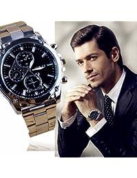 Men Quartz Watch COOKI Analog Clearance Dress Watches...