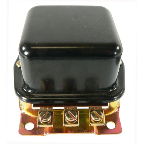 DB Electrical GFD6000 External Regulator for Ford 2N 8N 9N Tractor / 6 Volt Positive Ground A-Circuit 3-Terminal Bat-Arm-FLD 10-12 Amp / 8N-10505C ()