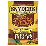 Snyder's Honey Mustard Onion Pretzel Pieces 125g - Pack of 6