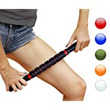 HomeGym 4U Muscle Roller Massage Stick, Instant Myofascial Release, Muscle Pain Relief, Trigger Points, Tension, Soreness, Cramping, Injury Prevention - Deep Tissue Recovery, Flexibility