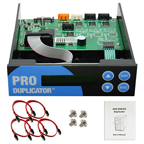 Produplicator 1-2-3 Blu-ray CD/DVD/BD SATA Duplicator Copier Controller + Cables Screws & Manual Optical Drive
