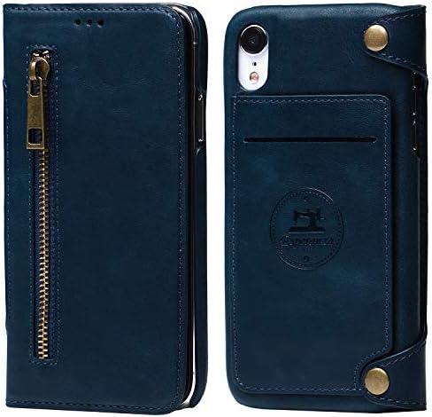 Esperanza 最高級 本革 iPhoneXS max スマホ ケース 取り外し 可能 財布としても使える 手帳型 マグネッ