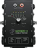 Mackie Cable Tester, 6-way switch Battery-Powered