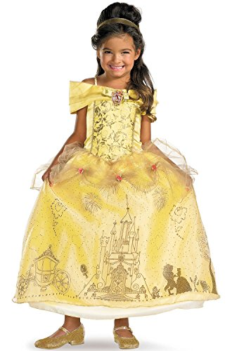 Storybook Belle Prestige Kids' Costume (Storybook Belle Costume)