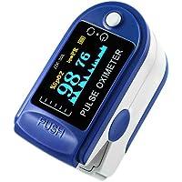 niceEshop(TM) Finger Pulse Oximeter Finger Oxygen Meter with Pulse Rate Monitor LED Display, Blue