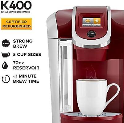 Keurig K200 Single Serve K-Cup Pod Coffee Maker Cashmere Gray New Damaged Box