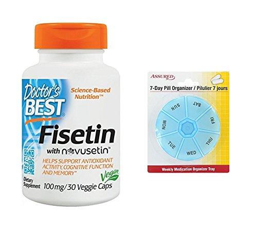 Amazon.com: Cuenta de 30 Fisetin consultorio mejor con Novusetin100 Mg,: Health & Personal Care