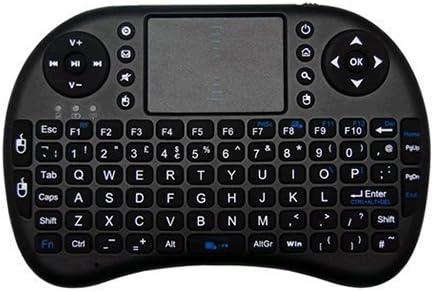 JUSTOP® OP002-B - Mini teclado inalámbrico con touchpad ...