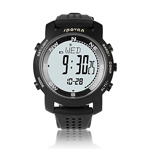 GearFan Outdoor Military Survival Gear Sports Waterproof Watch for Men Women Army Paracord Bracelets Hiking Camping