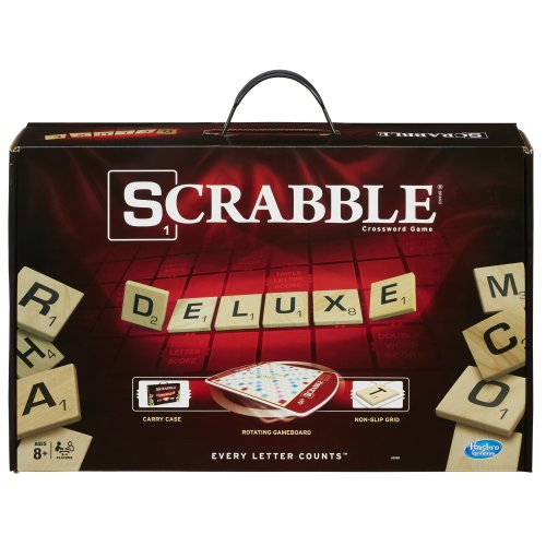 Hasbro Scrabble Deluxe Edition Game (Scrabble Edition)