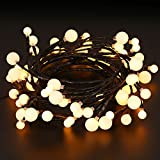 Starry String Lights with 72 Micro LEDs on 8.2feet, Indoor&Outdoor Fairy Decor Globe String Lights for DIY,Wedding,Party Christmas Table Decorations