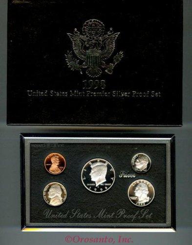 1998 U.S. Mint Premier Silver Proof (Seal Coin Set)