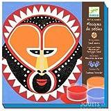 Kit loisirs créatifs sables colorés Djeco Masques de sables Enfants 9 à 15 ans