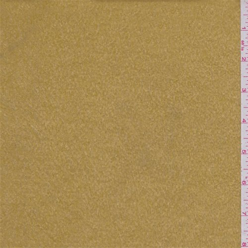 Camel Tan Faux Fur, Fabric by The -