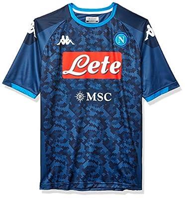 Ssc Napoli Italian Serie A Mens Away Replica Goalkeeper Match Shirt 2019/20