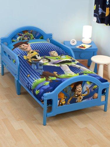 Toy Story Fractal Junior cama infantil + colchón con muelles: Amazon.es: Hogar