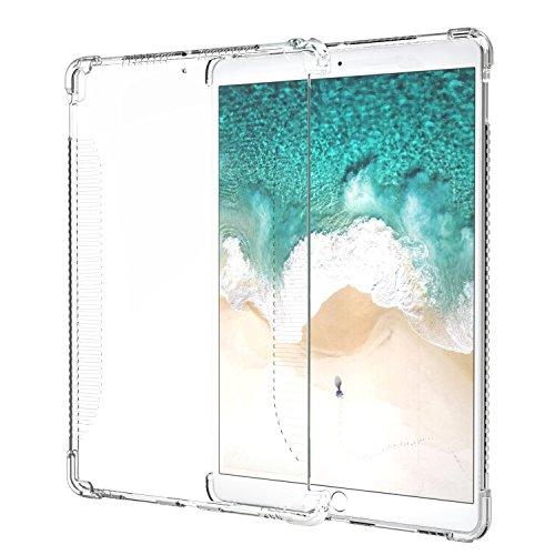 iPad Pro 10.5 Case, MoKo CLEAR Shockproof Soft Flexible