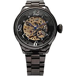 SHENHUA Men's Casual Wrist Watch Color Black