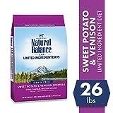 Image of Natural Balance Limited Ingredient Diets Sweet Potato & Venison Formula Dry Dog Food, 26 Pounds, Grain Free