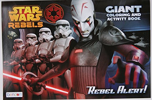Star Wars Rebels Coloring and Activity Book with Tower Puzzle, Bubble Pens & Tattoo Egg Set