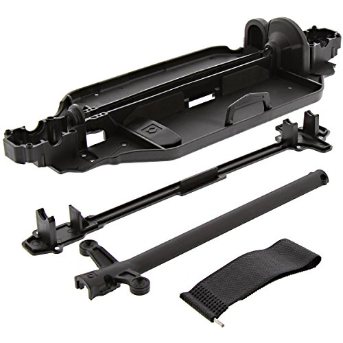 (HPI 1/10 RS4 Sport 3 Drift * CHASSIS, CENTER DRIVE SHAFT COVERS & BATTERY STRAP)