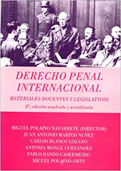 Derecho Penal Internacional. Materiales Docentes : Vv.Aa