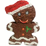 Pinatas Gingerbread Man, Christmas Decoration, Party Game And Photo Prop