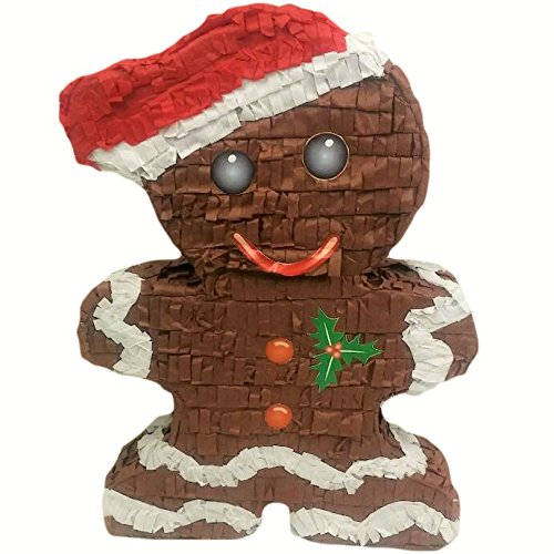 Pinatas Gingerbread Man, Christmas Decoration, Party Game And Photo Prop by Pinatas (Image #1)