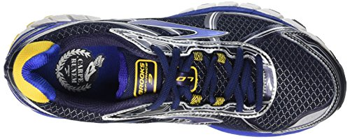 Brooks Defyance 9 - Entrenamiento y correr Hombre Azul (Peacoat/Surftheweb/Lemonchrome)