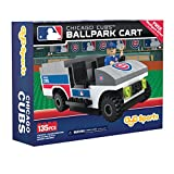 MLB Chicago Cubs Buildable Ballpark Cart, Small, White