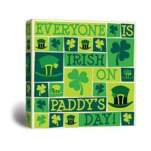 St Patrick Theme Print ation