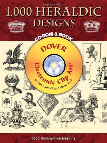 - 1,000 Heraldic Designs (Dover Electronic Clip Art)