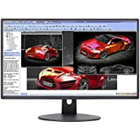 Sceptre E248W-19203R 24' Ultra Thin 75Hz 1080p LED Monitor 2x HDMI VGA Build-in Speakers, Metallic Black 2018