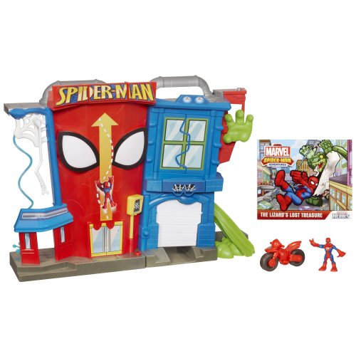 Playskool Heroes Marvel Spider-Man Adventures Electronic Spi