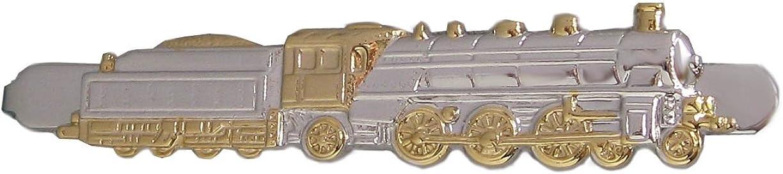Locomotora de alfiler de corbata de locomotora de tren + bajapara ...
