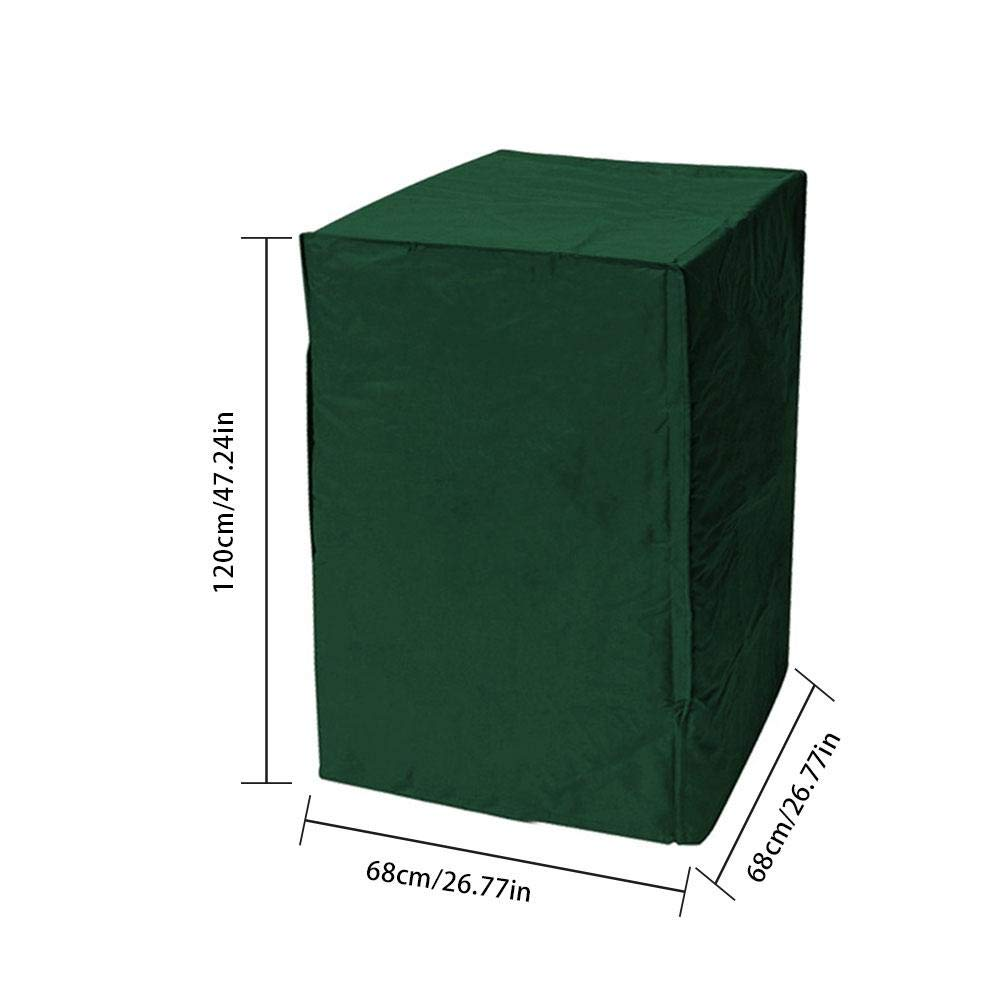A 64x64x120cm sPuPart Funda para Silla de Patio apilable 210D Impermeable a Prueba de Polvo para Muebles