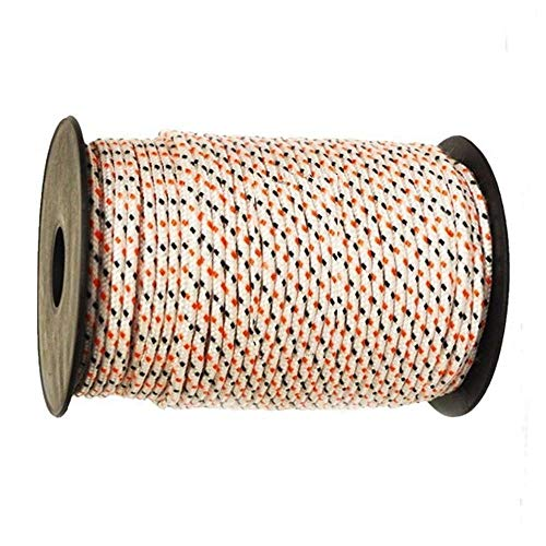 One (1) 200' Roll of 2.8mm Smooth Braid Nylon Starter Rope for Stihl Recoil Pull Cord String