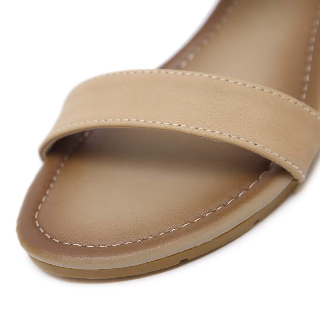 Ladies Bling Rhinestone Pearl Open Toe Ankle Strap Sandal Women Boho Sandals Fashion Low Wedge Back Zipper Dress Shoes