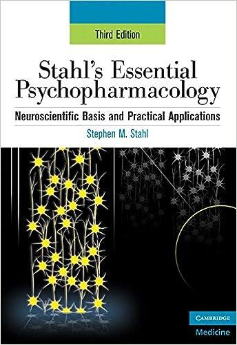 Pdf antipsychotics and mood stabilizers: stahl s essential psychophar….