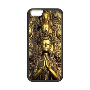 "DIY iPhone6 4.7"" Case, Golden Buddha quote Customized Phone Case"