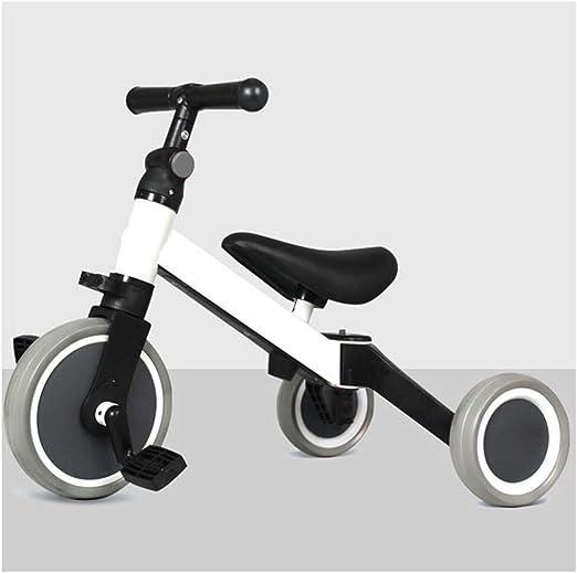 GJNWRQCY Triciclos para niños 3 en 1 para niños de 1 a 3 años Bicicleta Triciclo para niños pequeños Triciclos para niñas triciclos para niños Triciclos para bebés,Blanco: Amazon.es: Hogar