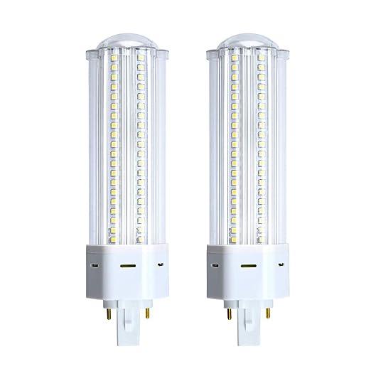 Bonlux 2-PIN 22W G24 LED Bombilla con 2200 Lúmenes, Reemplazo de 42W CFL