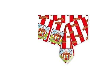 Big Party Circus Mantel de PVC para Fiesta Cumpleaños, Color ...