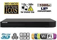 Samsung BD-J5900 Upgraded Wi-Fi Multi Region Zone Free Blu Ray DVD Player - PAL/NTSC 3D from Samsung
