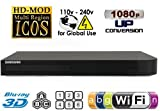 sharp bluray and dvd player - Samsung BD-J5900 Upgraded Wi-Fi Multi Region Zone Free Blu Ray DVD Player - PAL/NTSC 3D