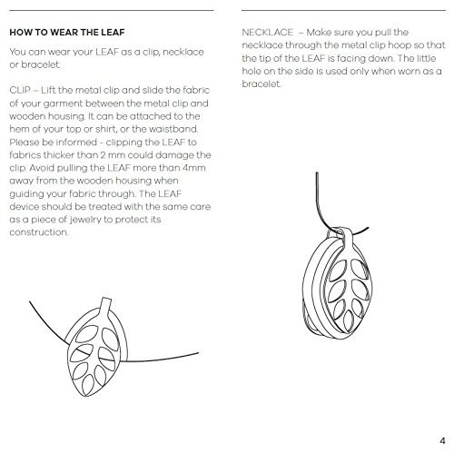 Bellabeat Leaf Urban Smart Jewelry Health