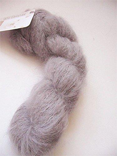 Blue Sky Alpacas Brushed Suri Yarn (905 Earl Grey) (Merino Yarn Suri)