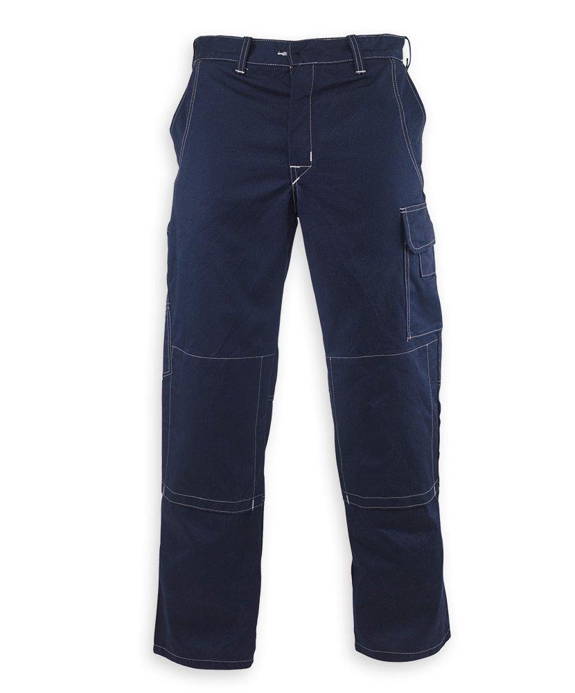 HB STC-SW39NG-46R - Pantalones de protección (4 soldaduras, regular, grano, tamaño: 46, azul marino/gris): Amazon.es: Industria, empresas y ciencia