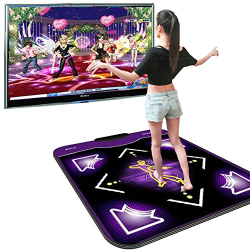 Owmoon Dance Mat Non-slip Dance Pad Dancing Blanket Dancing Step Pads to PC with USB by Owmoon