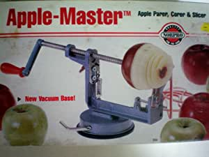 Apple Master Apple Parer, Corer & Slicer -- Vacuum Base -- Quality Norpro For The Cook